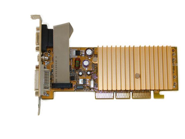 AGP GeForce MX4000 128MB VGA w/DVI/TVout  PV-N18BA(128LD)